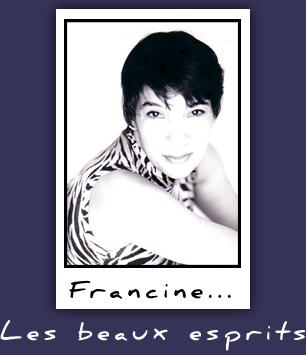 Francine . les Beaux Esprits sur annuaire de Bunny